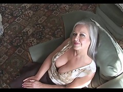 MILF Attractive busty granny in..