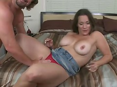 Thoughtless Mom from DB loves Cock