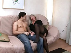 Milf Russian approximately a young cock