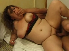 FRENCH MATURE n51 anal bbw mom with..