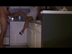 Amateur wife fucked in kitchen