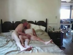 Giving my 53 years Blonde Wife an Orgasm
